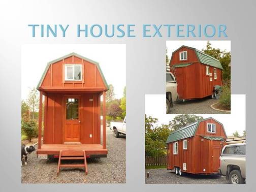 This Tiny House Or Cabin On A Travel Trailer Frame Was Built In 2010 And Has Never Been Lived Home Most Of The Amenities Any